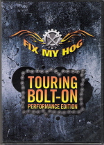 Late 1984 - Present Harley-Davidson Fix My Hog Touring Bolt On Performance Edition DVD