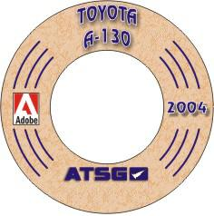 Toyota A130 Transaxle on Mini CD-ROM