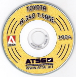 Toyota A-340 Transfer Case CD-ROM