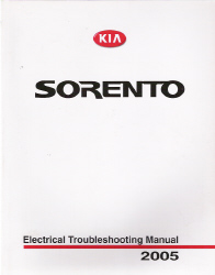 2005 Kia Sorento Factory Electrical Troubleshooting Manual