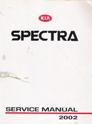 2002 Kia Spectra Factory Service Manual
