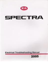 2004 - 2005 Kia Spectra Factory Electrical Troubleshooting Manual