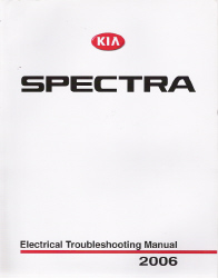 2006 Kia Spectra Factory Electrical Troubleshooting Manual