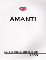 2005 Kia Amanti Factory Electrical Troubleshooting Manual