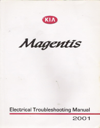 2001 Kia Optima / Magentis Factory Electrical Troubleshooting Manual