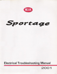 2001 Kia Sportage Factory Electrical Troubleshooting Manual