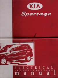1998 - 1999 Kia Sportage Electrical Troubleshooting Manual