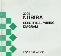 2000 Daewoo Nubira Factory Wiring Diagram Manual