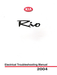 2004 Kia Rio Factory Electrical Troubleshooting Manual