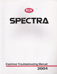 2004 Kia Spectra Factory Electrical troubelshooting Manual
