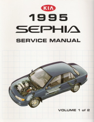 1995 Kia Sephia Factory Service Manual - 2 Vol Set