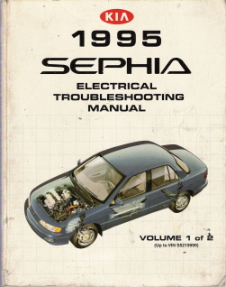 1995 Kia Sephia Factory Electrical Troubleshooting Manual - Vol 1- Up To VIN S5219999