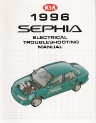 1996 Kia Sephia Factory Electrical Troubleshooting Manual