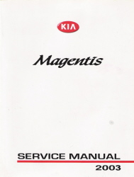 2003 Kia Optima / Magentis Factory Service Manual