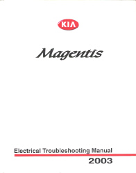 2003 Kia Optima / Magentis Factory Electrical Troubleshooting Manual