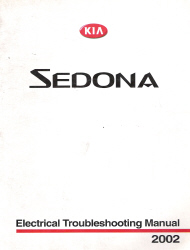 2002 Kia Sedona Factory Electrical Troubleshooting Manual