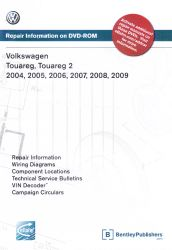 2004 - 2009 Volkswagen Touareg and Touareg 2,  Official Factory Repair Manual on DVD-ROM
