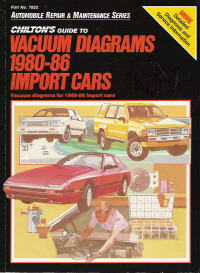 1980 - 1986 Chilton's Guide to Vacuum Diagrams, Import Cars