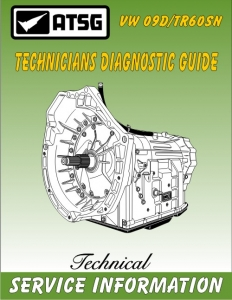 VW 09D / TR60SN Technicians Diagnostic Guide
