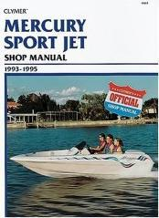 Mercury 90-120 hp Sport Jet Shop Manual 1993-1995
