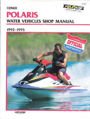 1992 - 1995 Polaris Water Vehicles Clymer Repair Manual