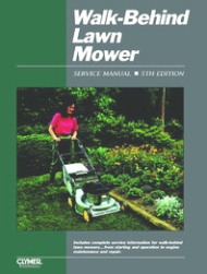 1996 and Earlier Walk-Behind Lawn Mower Clymer Service Manual