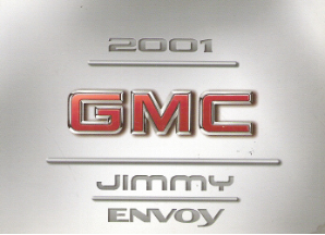 2001 GMC Jimmy and Envoy Factory Owner's Manual