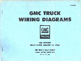 1966 - 1967 GMC Truck All Models built after August 22, 1966 - Wiring Diagrams