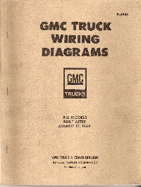 1969 GMC Truck All Models Built After August 12, 1968 - Wiring Diagrams