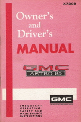 1972 GMC Astro 95 Owner's and Driver's Manual