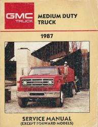 1987 GMC Medium Duty Truck Service Manual