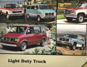 1988 GMC Light Duty Truck Factory Wiring Diagrams