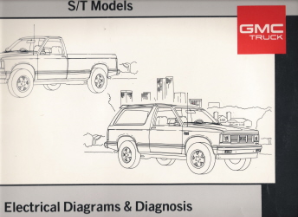 1989 GMC Light Duty Truck S/T Model Electrical Diagrams & Diagnosis