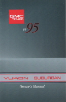 1995 GMC Yukon Suburban Owner's Manual