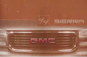 1999 GMC Sierra Owner's Manual