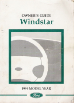 1999 Ford Windstar Owner's Manual