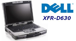Dell XFR-D630 Fully Rugged Laptop with Many Upgrades