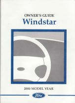 2000 Ford Windstar Owner's Manual