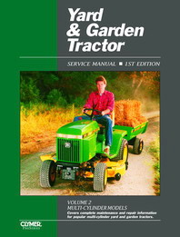 1990 and Earlier Yard & Garden Tractor Clymer Service Manual Vol. 2: Multi-Cylinder Models