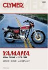 1970 - 1982 Yamaha 650 Twins Clymer Repair Manual