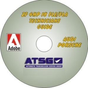 Audi / Porsche ZF4HP-18 FLE & FLA Technicians Diagnostic Guide- Mini CD-ROM
