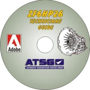Audi / Jaguar / BMW ZF6HP26Technicians Diagnostic Guide, Mini CD-ROM