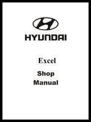 1991 Hyundai Excel Factory Shop Manual