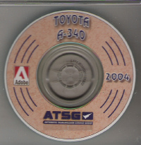 Toyota A-340E/H Overhaul Manual on CD-ROM