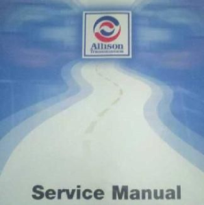 1992 - Up Allison MD 3000 Series OEM Factory Service Manual