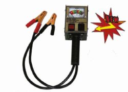 Associated 6 / 12 Volt, 125 / 60 Amp Dual Load Battery Tester, Analog