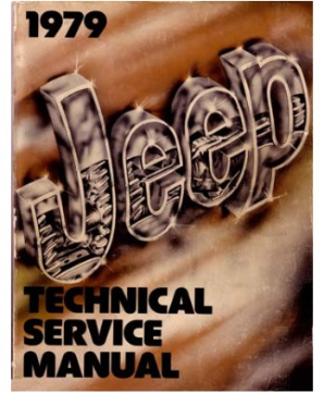 1979 Jeep (All Models) Factory Service Manual