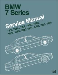 1988-1994 BMW 7 Series (E32) Official Factory Service Manual