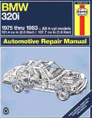 1975 - 1983 BMW 320i Haynes Repair Manual