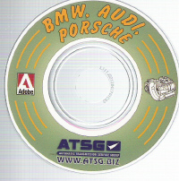 BMW Porsche Audi Technicians Diagnostic Guide- Mini CD-ROM